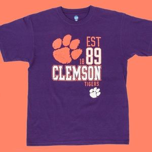 NCAA Clemson University Tigers T Shirt Large